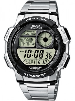 Годинник CASIO AE-1000WD-1AVEF Collection 44mm 10ATM