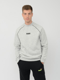 Свитшот Puma High Neck Crew Sweat 6 58441301 XXL Light Gray Heather (4062452603341)