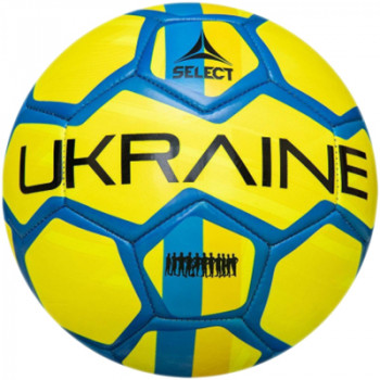 М'яч футбольний Select FB EM 2020 Ukraine (782) №5 Yellow-Blue (5703543244782)