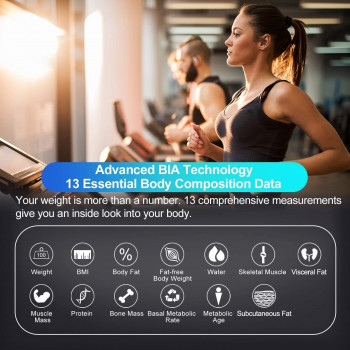 Смарт-ваги FITINDEX Smart Bluetooth Body FT-24D