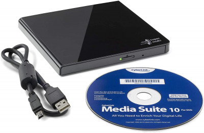 H-L Data Storage DVD±R/RW USB 2.0 GP57EB40 Black