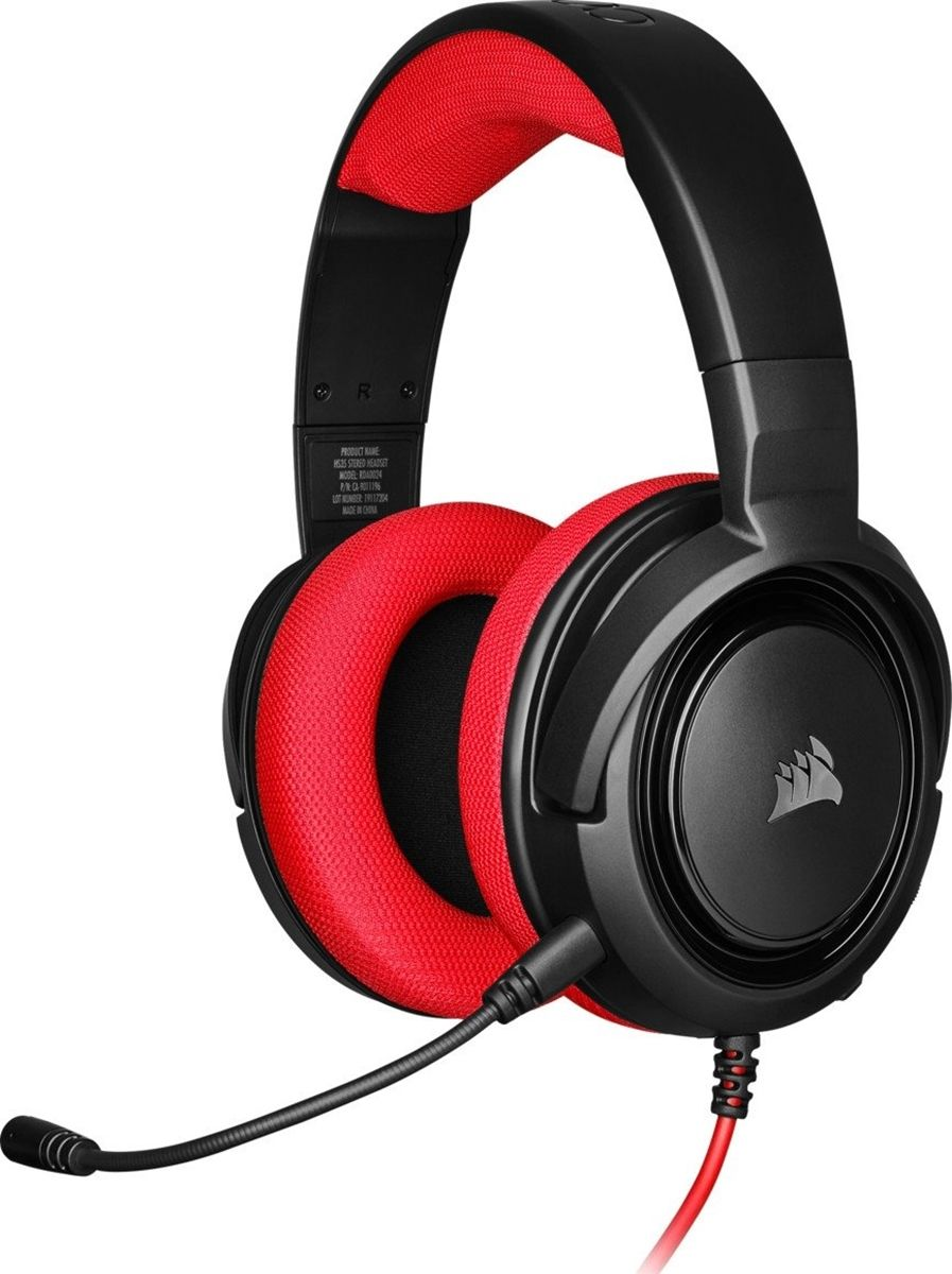 Наушники Corsair HS35 Red (CA-9011198-EU)