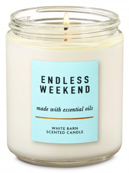 Свічка ароматизована Bath and Body Works Endless Weekend Scented Candle 198 г