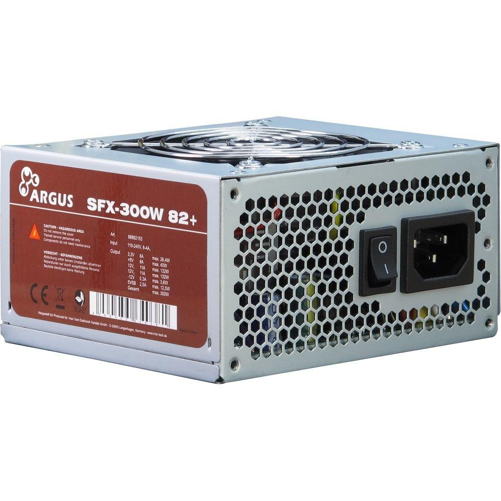 Блок питания Inter-Tech 300W (SFX-300W 82+)