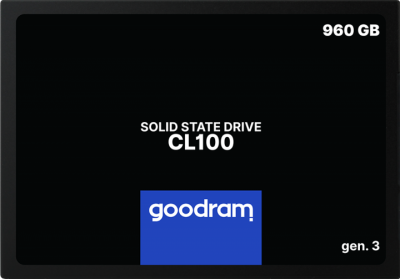 "Твердотільний диск SSD 2.5"" 960GB Goodram CL100 TLC (SSDPR-CL100-960-G3)"