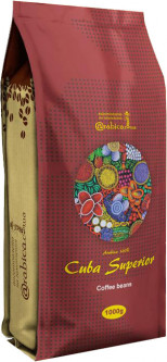 Кофе в зернах Arabica Specialty coffee Cuba Superior Куба 1 кг (4820157910115)