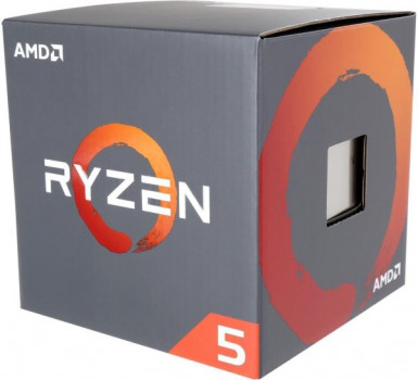 Процесор CPU AMD 6C/12T Ryzen 5 1600 3,2GHz-3,6GHz(Turbo)/16MB/65W (YD1600BBAFBOX) sAM4 BOX