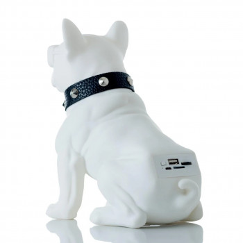 Портативна колонка Bluetooth SPS CH-M10 White DOG