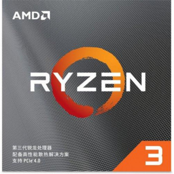 Процессор AMD Ryzen 3 3100 (3.6GHz 16MB 65W AM4) Box (100-100000284BOX)