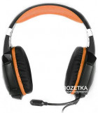 Навушники Real-El GDX-7700 Surround 7.1 Black-orange (EL124100016) - зображення 2