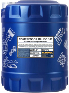 Компрессорное масло Mannol Compressor oil ISO 100 10 л (ISO 100 10l)