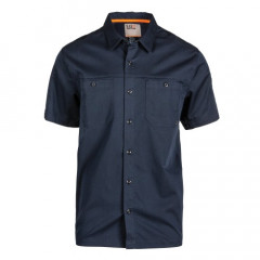 Рубашка 5.11 Tactical Flex-Tac Twill Short Sleeve Shirt 71390-787 XS Peacoat (2000980498208)