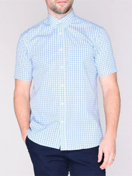 Сорочка Pierre Cardin 557134-91 Blue Check