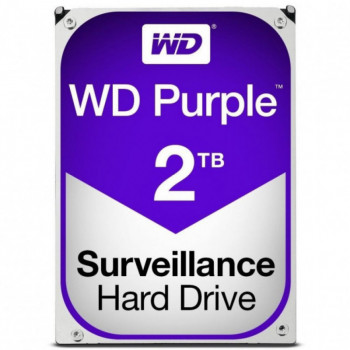 Жорсткий диск Western Digital Purple 2TB 5400rpm 64MB WD20PURZ 3.5 SATA III