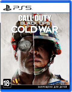 Игра Call of Duty: Black Ops Cold War для PS5 (Blu-ray диск, Russian version)