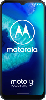 Мобильный телефон Motorola G8 Power Lite 4/64GB Royal Blue (PAJC0017RS)