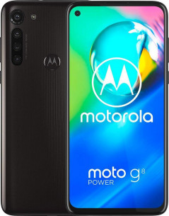 Мобильный телефон Motorola G8 Power 4/64GB Smoke Black (PAHF0007RS)