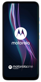 Мобільний телефон Motorola One Fusion+ 6/128GB Blue (PAJW0006RS)