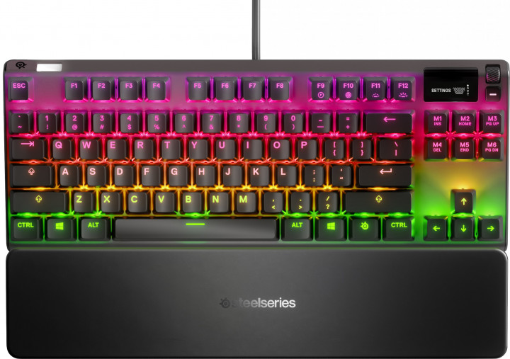 Клавиатура SteelSeries Apex 7 TKL Red Switches (64646)