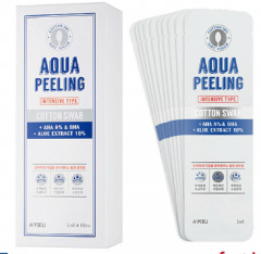 Пілінг для обличчя A'Pieu Aqua Peeling Cotton Swab Intensive Set 8+2 (8806185777582)