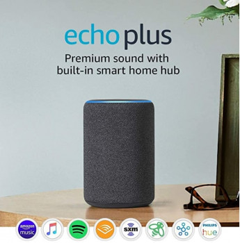 Amazon Echo Plus (2rd Gen) Charcoal