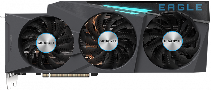 Gigabyte PCI-Ex GeForce RTX 3090 EAGLE OC 24GB GDDR6X (384bit) (2 х HDMI, 3 x DisplayPort) (GV-N3090EAGLE OC-24GD) - зображення 1