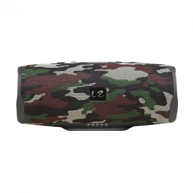 Портативна бездротова колонка LZ Charge 3 Camouflage IPX7 Bluetooth - зображення 1