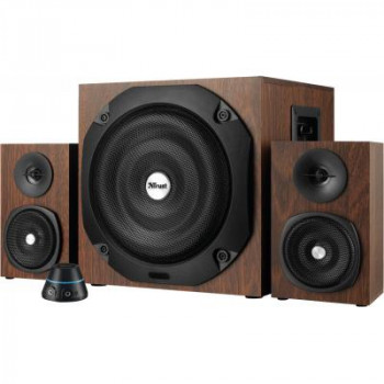 Акустическая система Trust Vigor 2.1 Subwoofer Speaker Set - brown (20244)