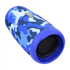 Портативна бездротова колонка Booms Bass L12 Blue Camouflage Блютуз 5.0
