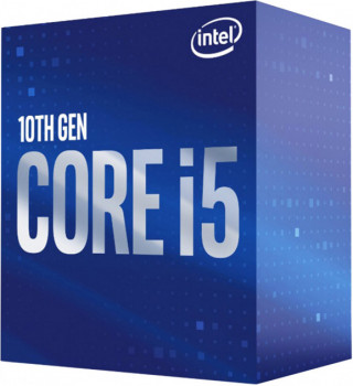 Процессор Intel Core i5 10400F 2.9GHz (12MB, Comet Lake, 65W, S1200) Box (BX8070110400F)