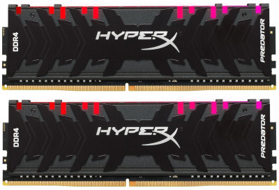 Оперативна пам'ять HyperX DDR4-4000 16384 MB PC4-32000 (Kit of 2x8192) Predator RGB (HX440C19PB4AK2/16)