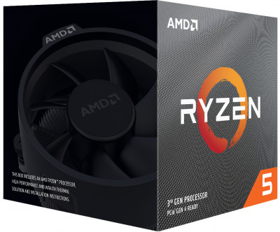 Процесор AMD Ryzen 5 3500X 3.6 GHz / 32 MB (100-100000158BOX) sAM4 BOX