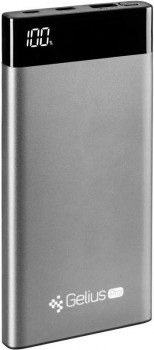 УМБ Gelius Pro Edge (V2PD.QC) GP-PB10-006 2.1A 10000 mAh Grey (2099900789946)
