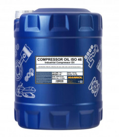 Компрессорное масло Mannol Compressor oil ISO 46 10 л (ISO 46 10l)