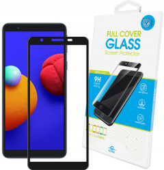 Защитное стекло Global Full Glue для Samsung Galaxy M01 Core Black (1283126505010)