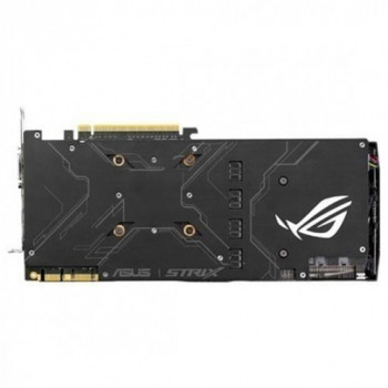 Asus Pci-Ex Geforce Gtx 1070 Rog Strix 8Gb Gddr5 (256Bit) (1632/8000) (Dvi/ 2 X Hdmi/ 2 X Displayport) (Strix-Gtx1070-O8G-Gaming)