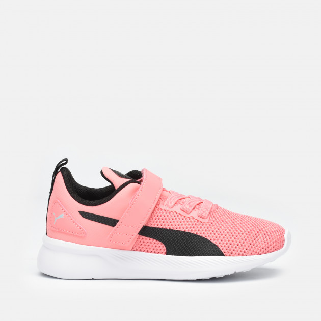 Кроссовки Puma Flyer Runner V K 19292913 34 (1.5) 20.5 см Salmon Rose-Black-White (4062453246240)