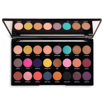 Палетка теней для век MAKEUP REVOLUTION Eyeshadow Palette Creative Vol 1 , 24 оттенка