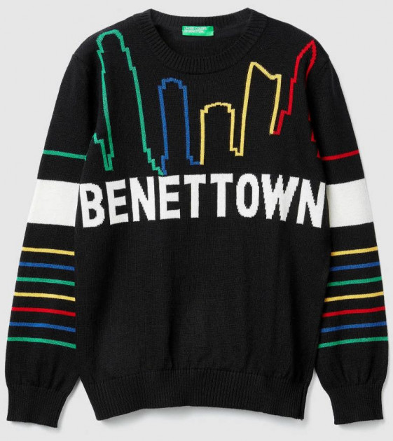 Джемпер United Colors of Benetton 1041Q1965.G-118 160 см EL (8032652363143) - изображение 1