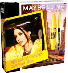 Промо-набор Maybelline New York The Colossal 100% Black (5902503324964)