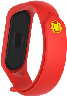 Ремешок ArmorStandart Superhero Edition для Xiaomi Mi Band 5 Iron Man Red (ARM57109)