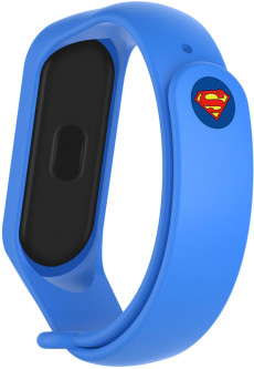 Ремешок ArmorStandart Superhero Edition для Xiaomi Mi Band 5 Superman Blue (ARM57074)