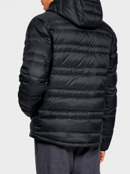 Куртка Under Armour Ua Armour Down Hooded Jkt 1342738-001 Чорна