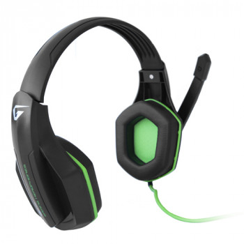 Наушники Gemix Gaming W-330 black-green