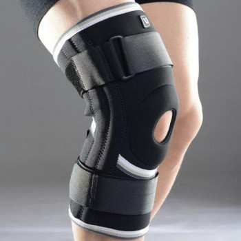 Фіксатор для коліна LiveUP Knee Support L Black (LS5762-L)