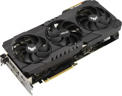 Asus PCI-Ex GeForce RTX 3090 TUF Gaming OC 24GB GDDR6X (384bit) (19500) (2 x HDMI, 3 x DisplayPort) (TUF-RTX3090-O24G-GAMING)