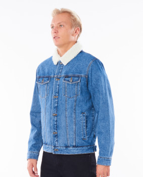 Куртка Rip Curl CJKBD9-8962 Angus Denim Jacket Синя