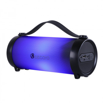 Портативна акустична система Bluetooth Beecaro with RGB Light RX33D |BT5.0, 7.5/8.5 W, FM, AUX, TF| (230*94*97mm) з підсвічуванням