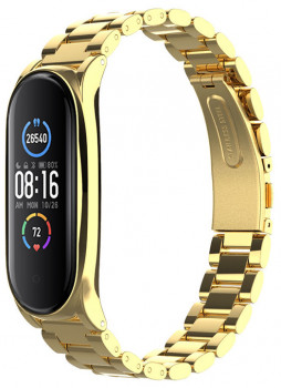 Xiaomi Mi Band 5 MiJobs Metal Plus Gold (MJ5-PMS006G)
