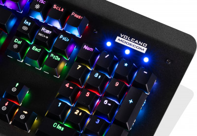 Клавіатура дротова Modecom Hammer 2 Removable Outemu Red RGB USB (K-MC-HAMMER2-U-RED-RGB-RU)